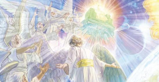 angels praising